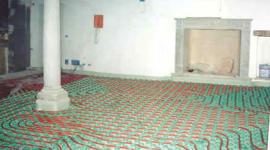 progettazione impianti a pavimento, ristrutturazione edilizia, efficienza energetica