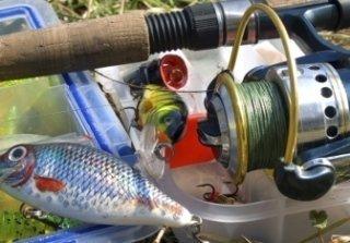 mulinelli per pesca d' altura, lenze per la pesca, borracce