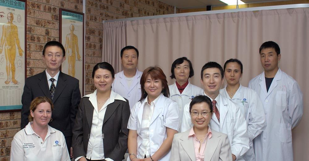 team picture for capital health centre of traditional chinese medicine