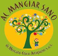 AL MANGIAR SANO di mercato etico-Logo