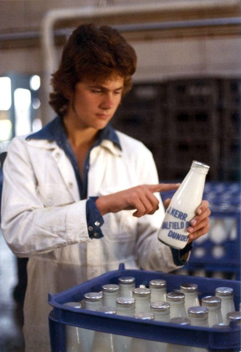 Milk bottle inspection