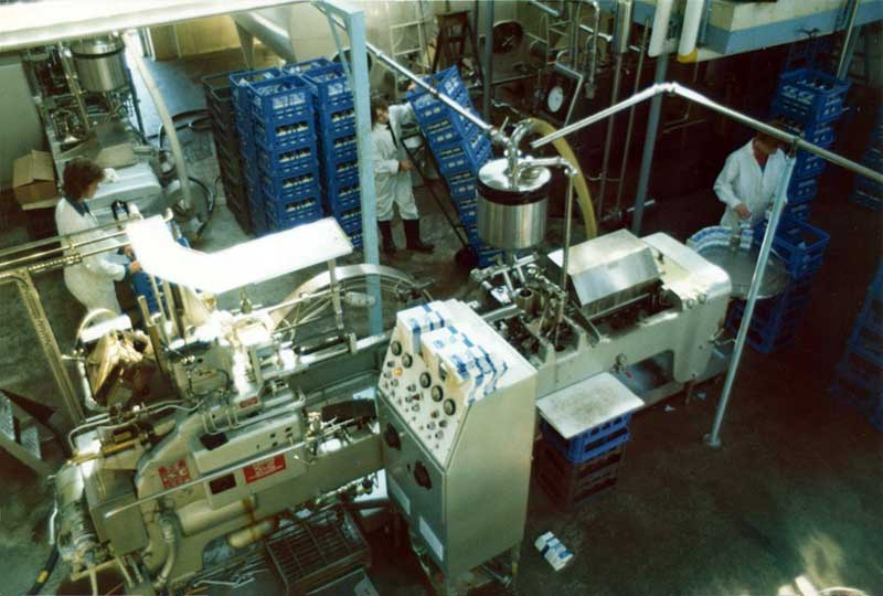 milk bottling plant