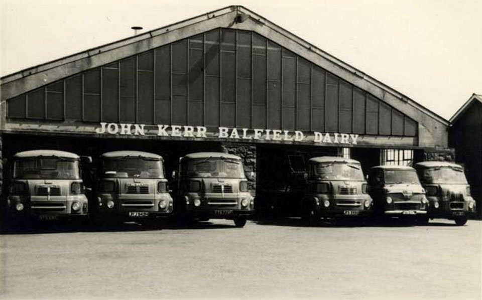 milk dairy in the past