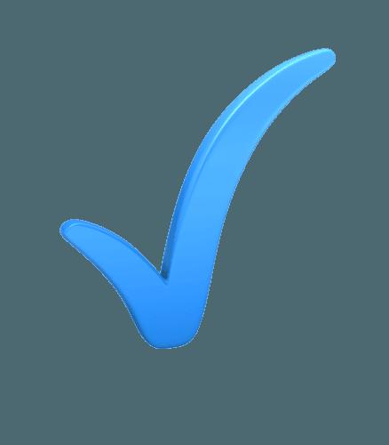 check mark blue image 500 clr