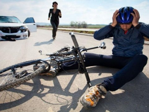 incidente stradale in Bicicletta