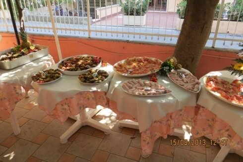 Buffet per evento