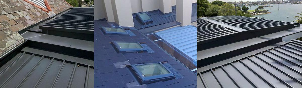 m and v roofing top view with glass