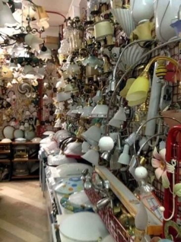 lampade di varie marche