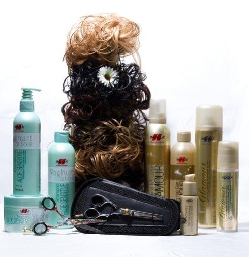 Cosmetici ed accessori per capelli