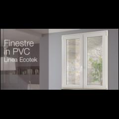 Finestre in PVC Ecotek