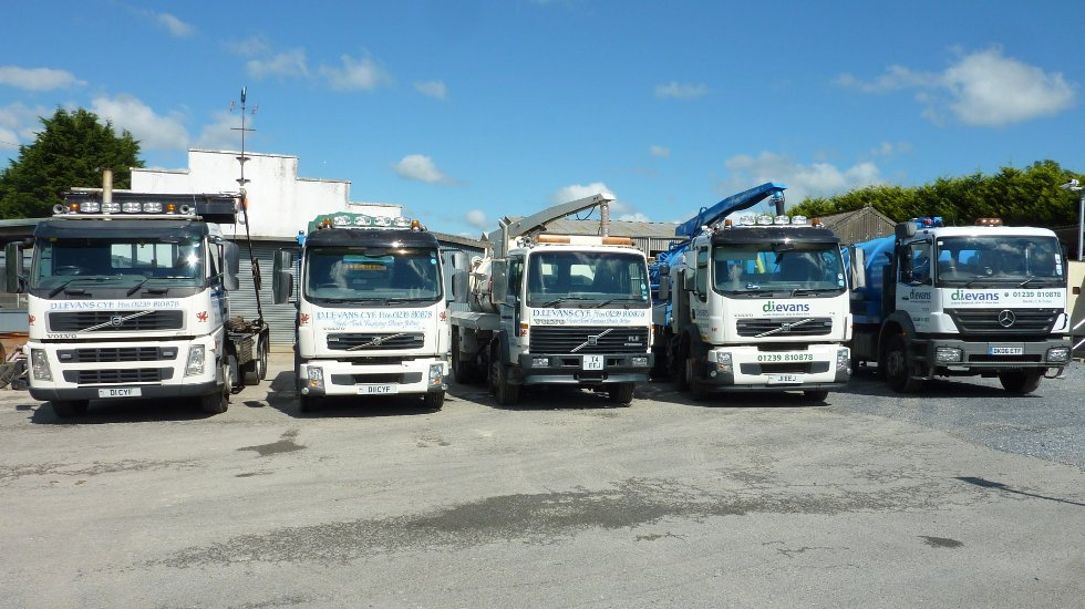 series of trucks