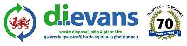 D.I. EVANS logo