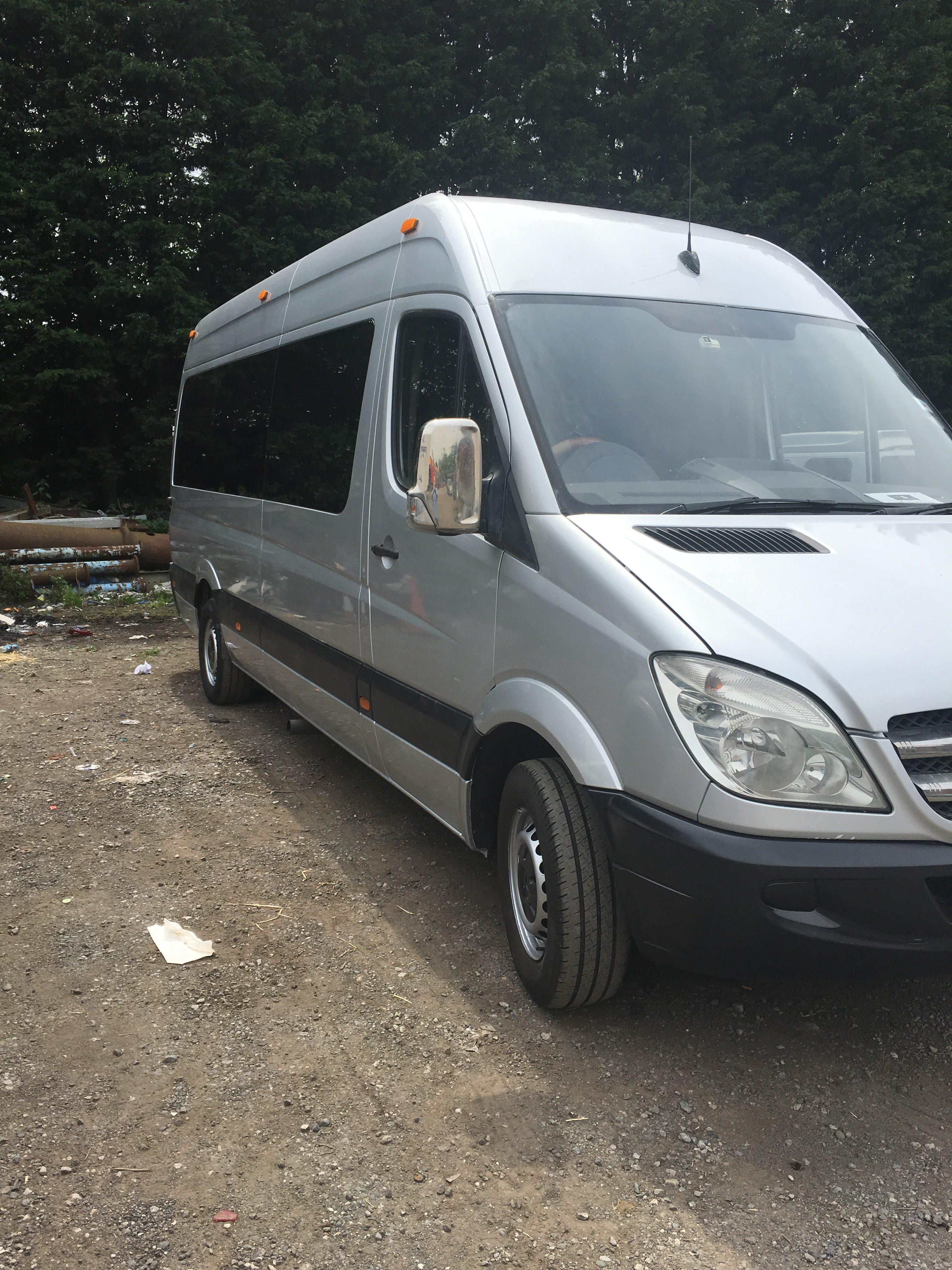spacious minibus