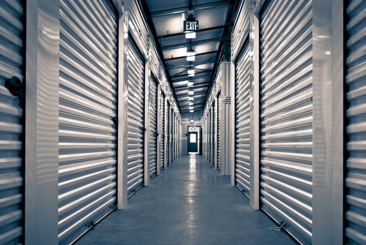 Our security self storage units in Commerce, GA