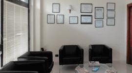 sala d'aspetto dell'ambulatorio dentistico