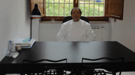il dentista alla scrivania