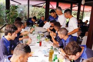 menù per squadre calcio