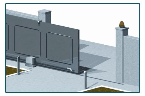 Progetto installazione cancello automatico