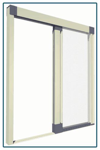 Montaggio di zanzariere per finestre di tutte le dimensioni