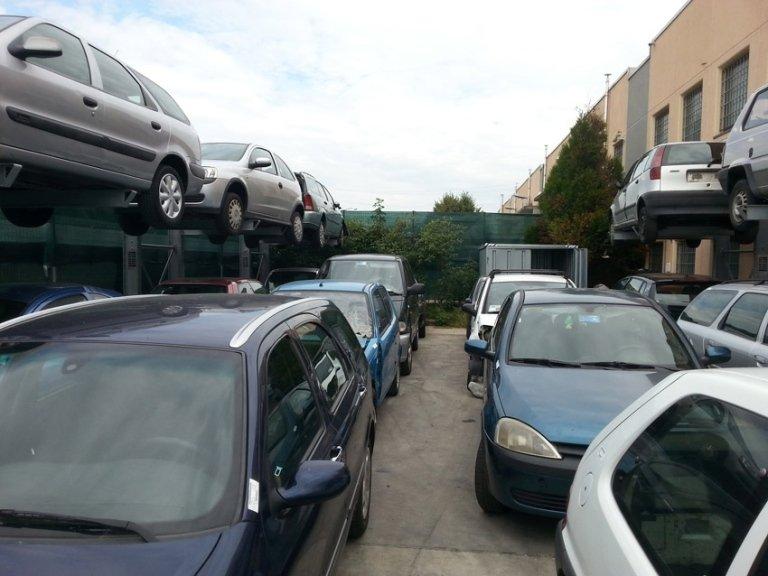ritiro auto sinistrate