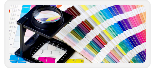 Digital printing - Belfast, County Antrim - B & S Labels - Magnifier with colour swatch