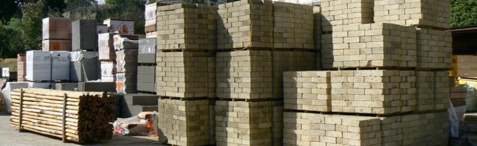 Materiali edili, edilizia, Formello, Roma