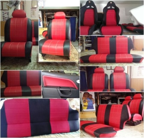 sedili auto personalizzati