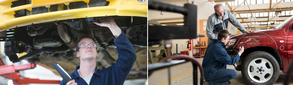leonhardt-automotive mechanical mechanic looking at car engine