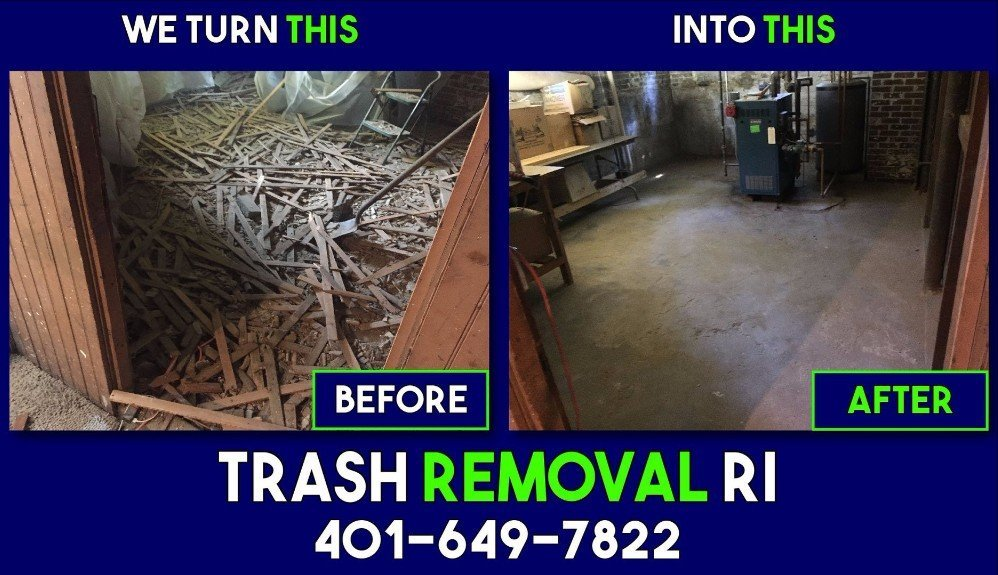 Junk Removal & Cleanup Services in Rhode Island | Trash Removal RI