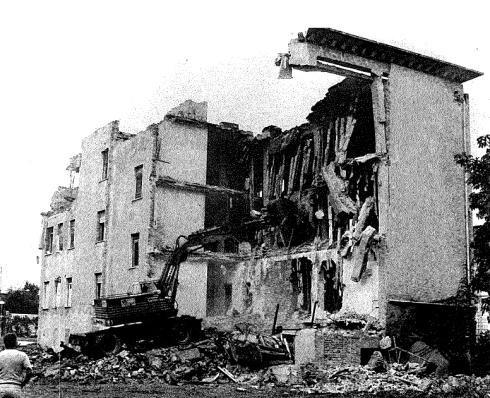 demolizioni - foto storica