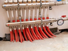 Underfloor heating - Baldovie, Dundee - Aquarius Tile and Bath - Heating