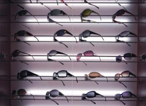 espositore occhiali