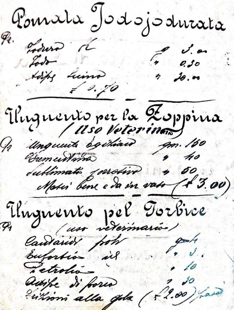 storia farmacia