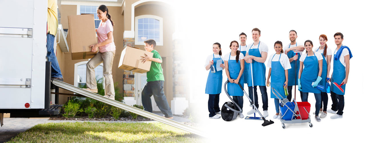 move out or in cleaning service