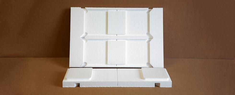 imballo scatola in polistirolo
