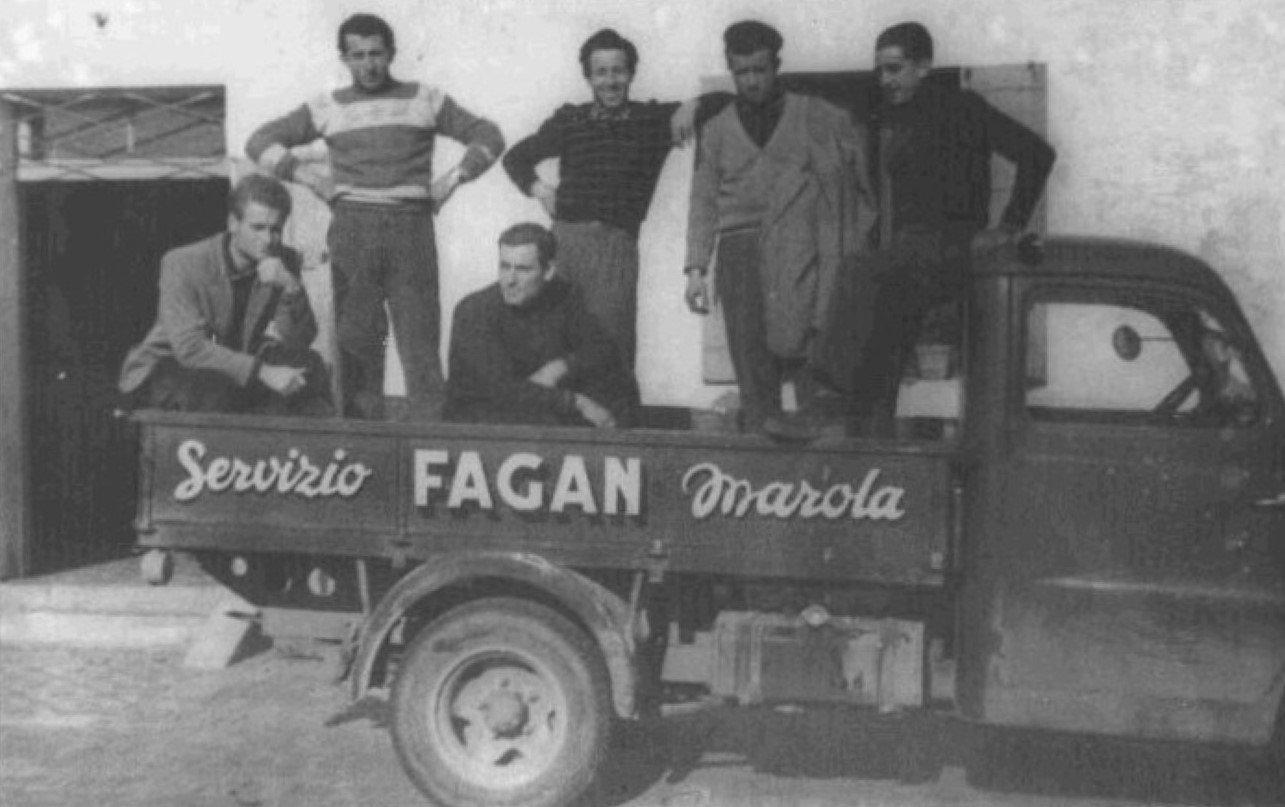 Foto antica del team Fagan Campane