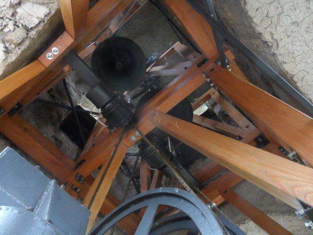 vista del campanile dal basso