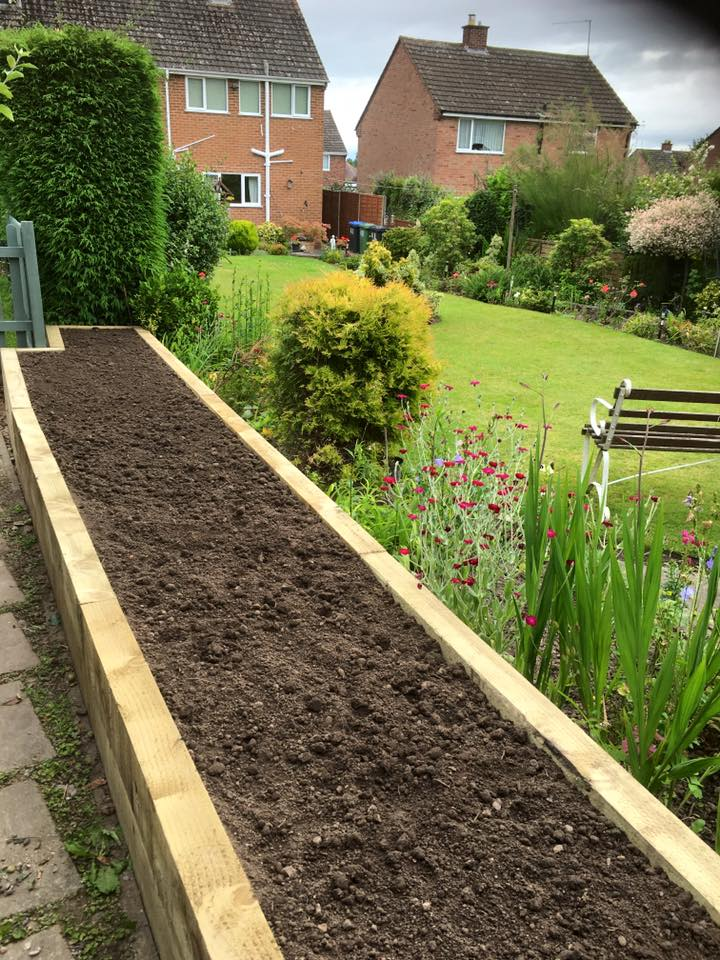 Bespoke garden design in Redditch