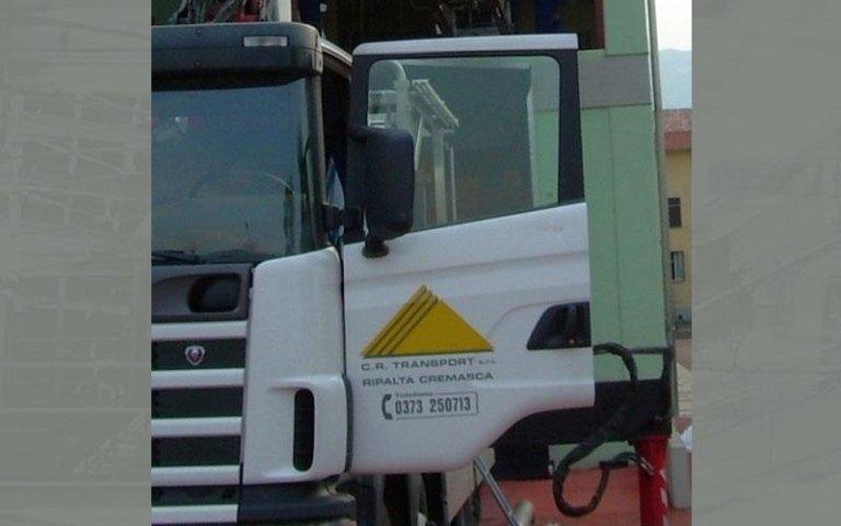 fronte di un camion