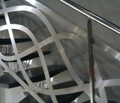 corrimano scale, prodotti per la casa, lavorazione dell alluminio