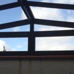 Infissi in alluminio per il tetto
