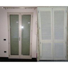 Infissi porte in alluminio intero e esterno