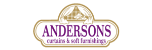 andersons curtains and blinds logo