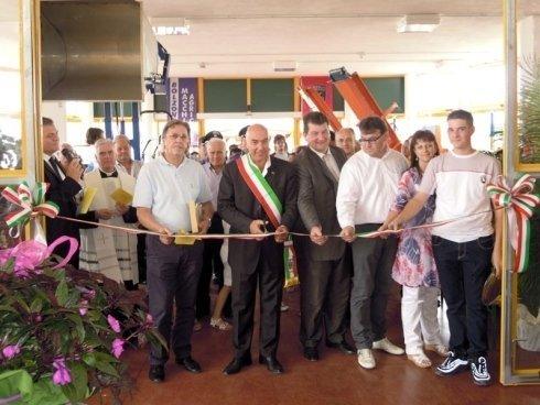 Inaugurazione sede di Cornuda di Bolzonello Mario