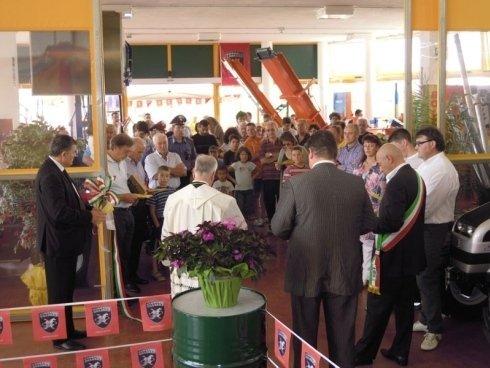 Inaugurazione della ditta Bolzonello Mario di Cornuda
