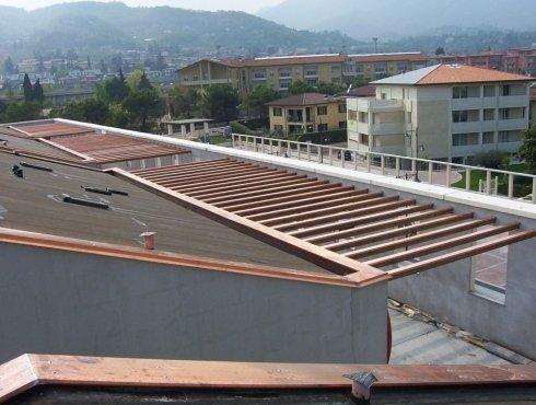 esecuzione lavori di lattoneria per tetti