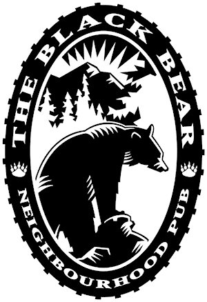 The Black Bear Pub logo