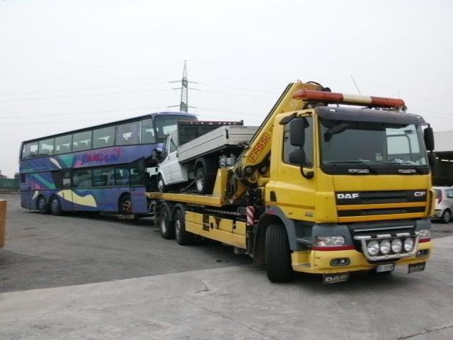 trasporto autovetture incidentate