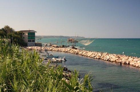 La spiaggia di Rocca San Giovanni