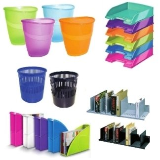 cestini, portariviste, cassettiere, vaschette